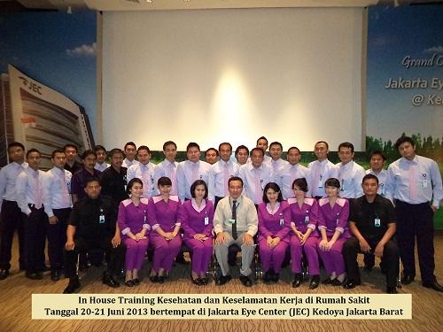 Training K3 Rumah Sakit JEC Jakarta Eye Center Tgl 20-21 Juni 2013