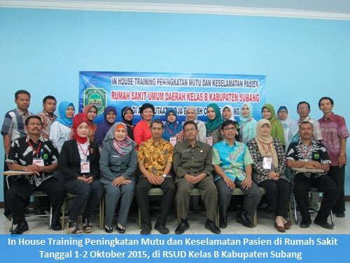 Training Instruktur Keperawatan-Clinical Instructur (CI) (Almost Running : 17-18 November 2016 Jakarta)