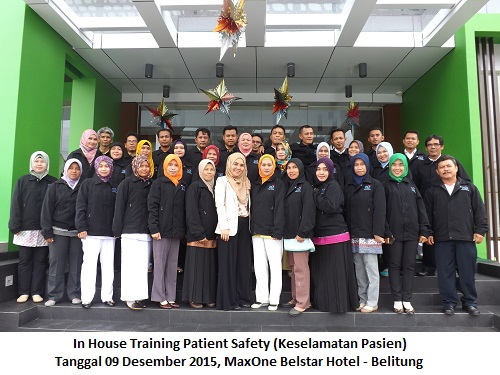 In House Training Patient Safety-BMD