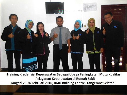 Training Kredensial Keperawatan 25-26 Feb 2016-BMD