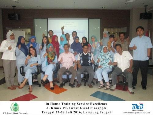 Training Service Excellence Rumah Sakit (9-10 Juli 2018Bandung)