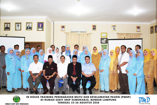 In House Training PMKP 15-16 Aug 2016 RS Urip Sumoharjo-BMD