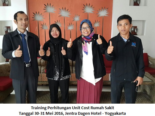 Perhitungan Unit Cost RS 30-31 Mei 2016 YGY-BMD