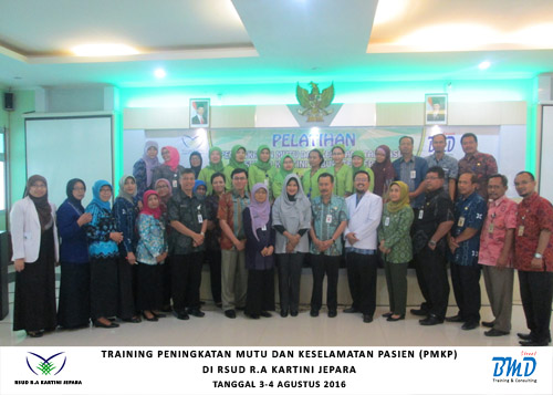 Training PMKP 3-4 AUG 2016 RSUD Kartini Jepara-BMD