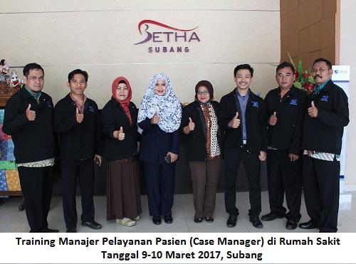 Training Case Manager 9-10 Maret 2017, Subang - BMD