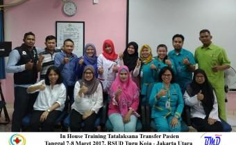 Foto INH Training Tatalaksana Transfer Pasien RSUD Tugu Koja Jakut 7-8 Maret 2017