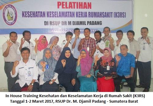Training K3 Rumah Sakit – Kesehatan dan Keselamatan Kerja Rumah Sakit (12-13 Juli 2018Bogor)
